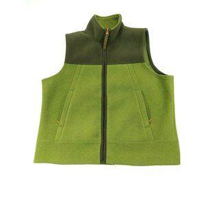 Mens AMERICAN EAGLE AE 77 Green Fleece Full Zip XL